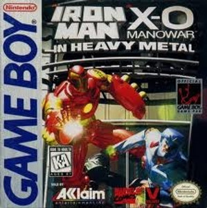 Iron Man X-O Manowar Heavy Metal - Game Boy