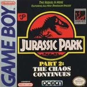Jurassic Park Part 2 The Chaos Continues - Game Boy