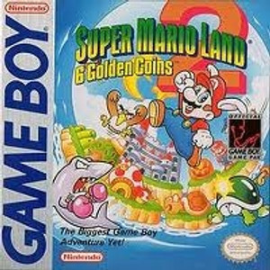 Super Mario Land 2 6 Golden Coins - Game Boy