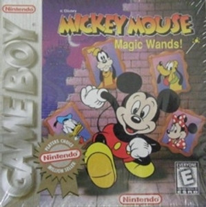 Mickey Mouse Magic Wands - Game Boy