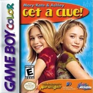 Mary Kate & Ashley Get A Clue! - Game Boy