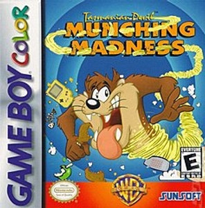 Taz Munching Madness - Game Boy
