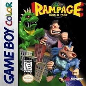Rampage World Tour - Game Boy