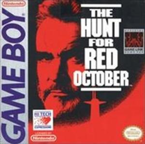 Hunt For Red October - Game Boy