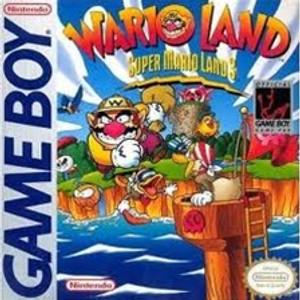 Super Mario Land 3 Wario Land - Game Boy
