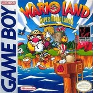 Super Mario Land 3 Wario Land - Game Boy