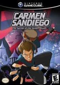 Carmen Sandiego The Secret Of The Stolen Drums - GameCube Game