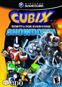 Cubix Robots For Everyone Showdown - GameCube Game