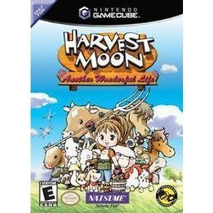 Harvest Moon Another Wonderful Life - GameCube Game
