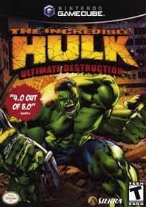 Incredible Hulk Ultimate Destruction - GameCube Game