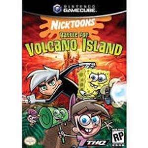 Nicktoons Batte for Volcano Island - GameCube Game