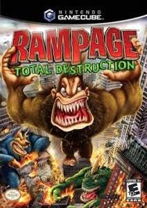 Rampage Total Desruction - GameCube Game