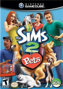 Sims 2 Pets - GameCube Game