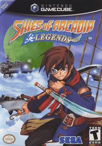 Skies of Arcadia Legends GameCube coverart
