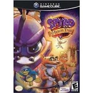 Spyro A Hero's Tail - GameCube Game