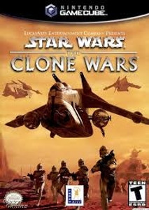Star Wars The Clone Wars - GameCube Game