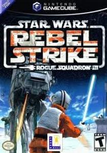 Star Wars Rebel Strike Rouge Squadron III - GameCube Game
