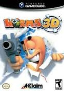 Worms 3D - GameCube Game