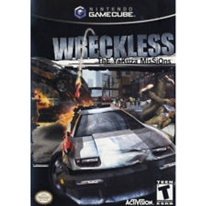 Wreckless - GameCube Game