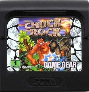 Chuck Rock - Game Gear