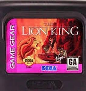 Lion King - Game Gear