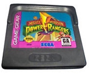 Mighty Morphin Power Rangers - Game Gear