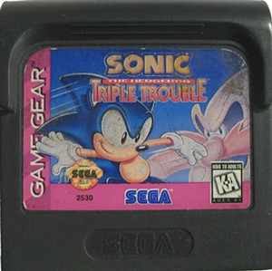 Sonic Triple Trouble - Game Gear