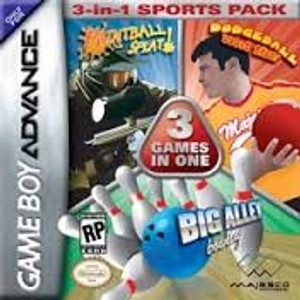 3 Games In One Sports Pack - Game Boy Advance