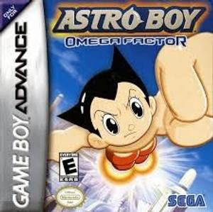 Astro Boy Omega Factor - GameBoy Advance Game