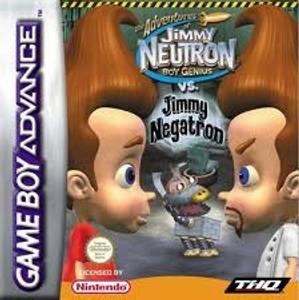 Adventures Of Jimmy Neutron Jimmy Negatron - Game Boy Advance