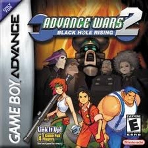Advance Wars 2 Black Hole Rising - Game Boy Advance