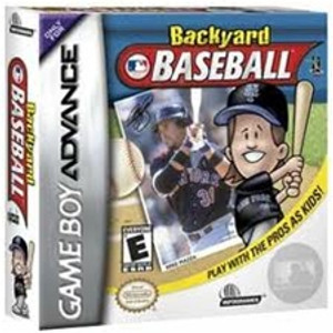 Backyard Baseball - Game Boy Advance