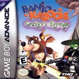 Banjo Kazooie Grunty's Revenge - Game Boy Advance