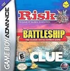 Battleship/Risk/Clue - Game Boy Advance