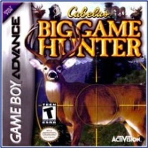 Cabela's Big Game Hunter - Game Boy Advance