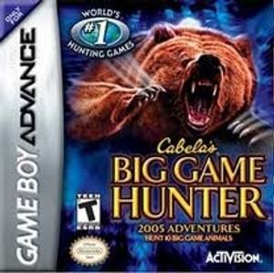 Cabela's Big Game Hunter 2005 - Game Boy Advance
