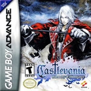Castlevania Harmony of Dissonance- Game Boy Advance