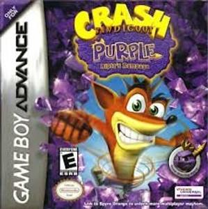 Crash Bandicoot Purple - Game Boy Advance