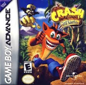 Crash Bandicoot Huge Adventure - Game Boy Advance
