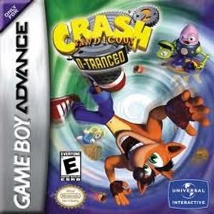 Crash Bandicoot 2 N-Tranced - Game Boy Advance