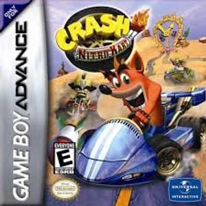 Crash Nitro Kart Racing - GameBoy Advance Game