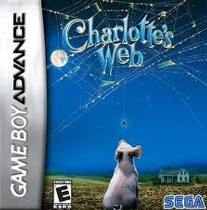 Charlotte's Web - GameBoy Advance Game