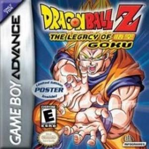 Dragon Ball Z Legacy Of Goku - Game Boy Advance