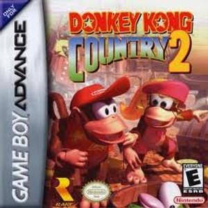 Donkey Kong Country 2 - Game Boy Advance