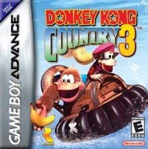 Donkey Kong Country 3 - Game Boy Advance