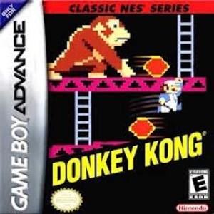 Donkey Kong Classic Series - Game Boy Advance