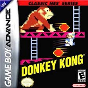 Donkey Kong Classic Series - Game Boy Advance