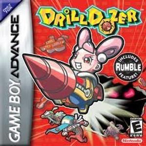Drill Dozer - Game Boy Advance