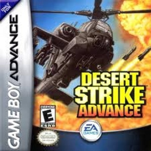 Desert Strike Advance - GameBoy Advance Game