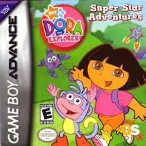 Dora Super Star Adventures - Game Boy Advance